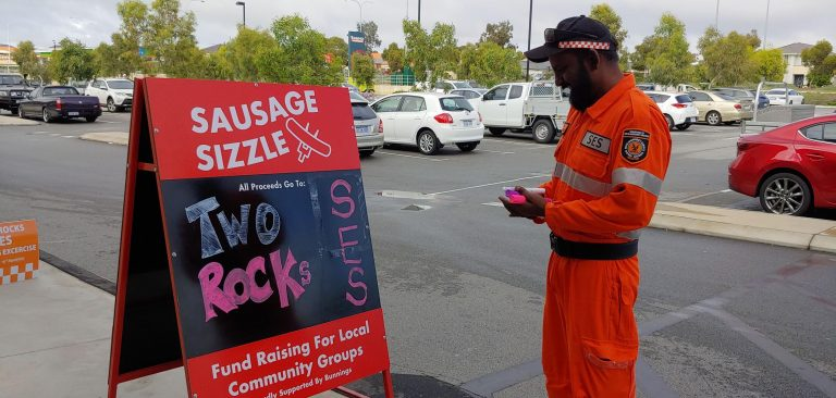 Two Rocks Sausage Sizzle at Mindarie Bunnings